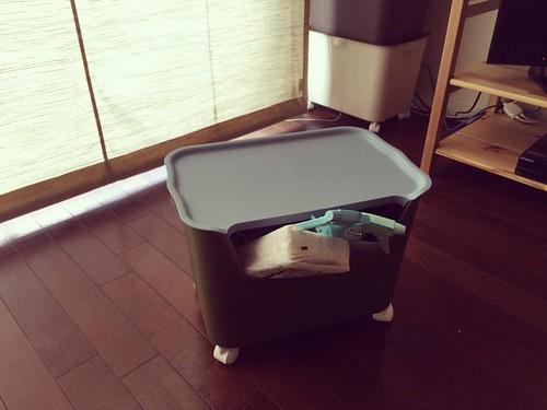サンカkatasu(カタス)収納整理ボックスキャスター付き