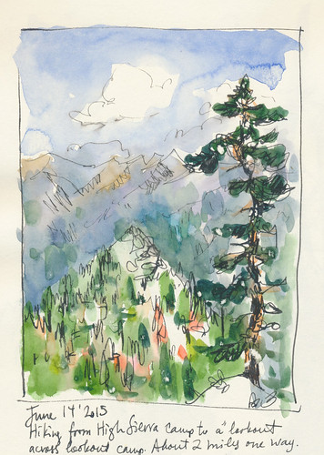 Sketchbook #91: Trip to the Sierras