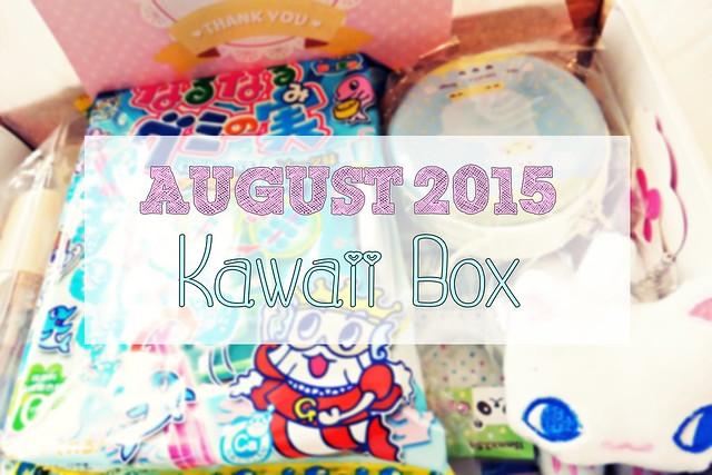 August 2015 Kawaii Box