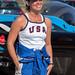 USA female pilot Melissa Pemberton