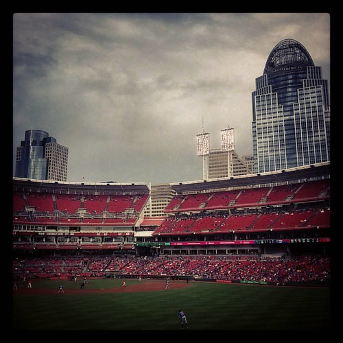 The #Reds last home of the season was a pretty dreary one. We made it to 46 Reds games this season at #GABP. And that's something to be proud of.