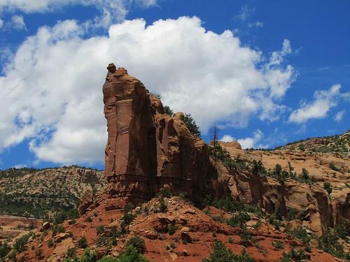 sky clouds rural colorado desert canyon erosion highdesert geology escalantecanyon
