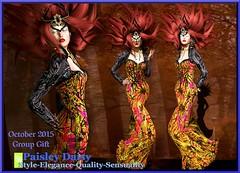Paisley Daisy - Vampira Couture GGoct15