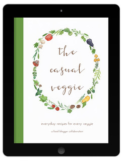 The Casual Veggie E-Book