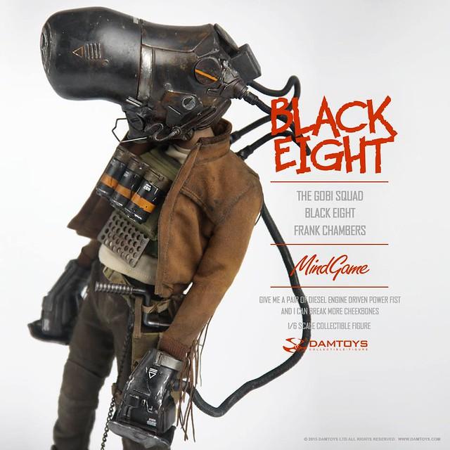 DAMTOYS Mind Game 系列【Black Eight。法蘭克.坎伯斯】The Gobi Squad
