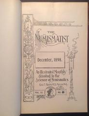 The Numismatist december 1898