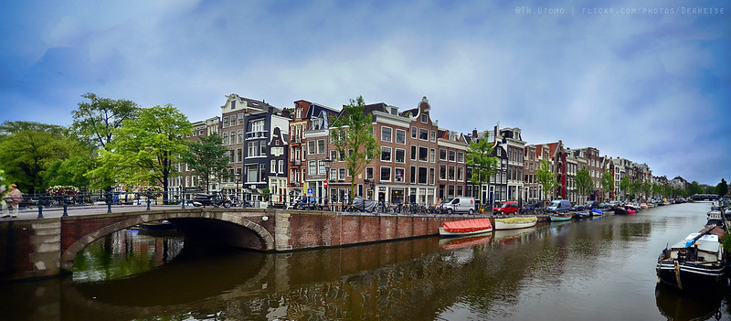 Amsterdam 10 (Amsterdam Canal Panorama) Euro Trip by @tw.utomo