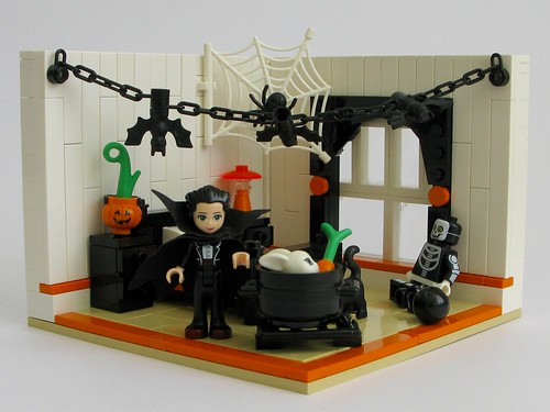 Emma's Halloween Bedroom