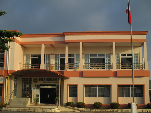 The DILG Region VIII office has since been rehabilitated with support from RAY funds - July 2015.