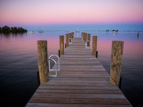 sunset beach water reflections boats dock sailboats verobeach indianriver