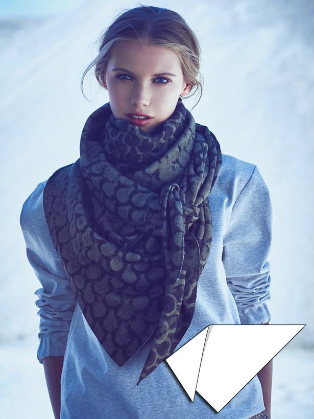 Blanket Scarf 122015 114 Sewing Patterns Burdastyle