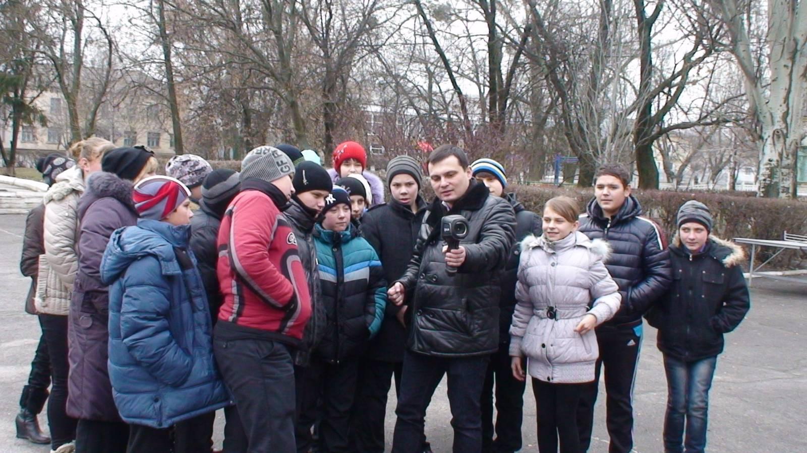 Термосканирование здания проводят ученики Булаховской школы