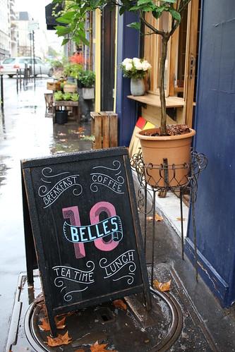 Ten Bellsで朝食