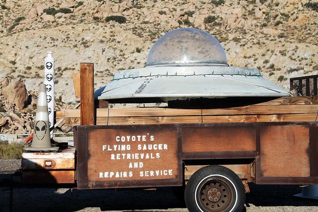 Coyote's UFO Repair Shop