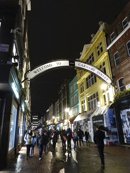 welcome to carnaby street