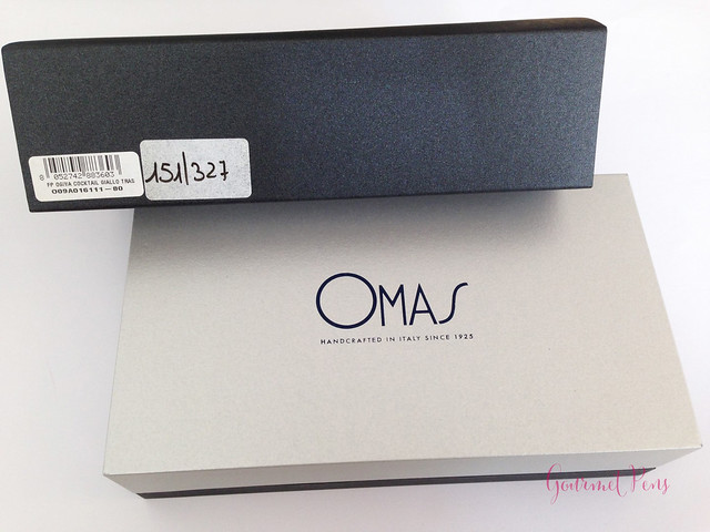 Review Omas Ogiva Cocktail Fountain Pen - Stub @Omas_Official (1)