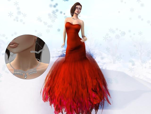 *FLOWERDREAM CREATION Ella Red New&99Loffer