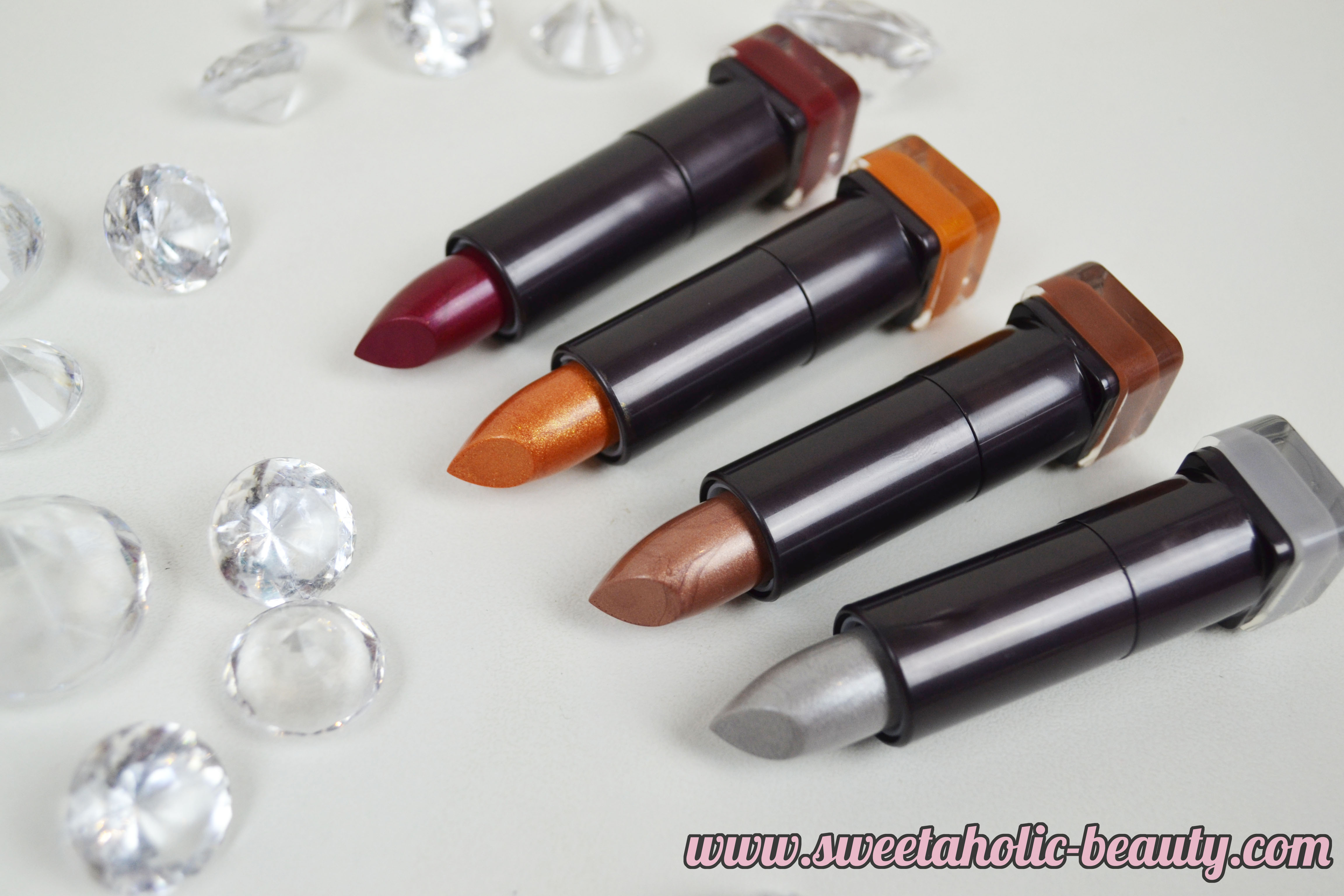 Covergirl Cosmetics Star Wars Colorlicious Lipstick Collection Review & Swatches