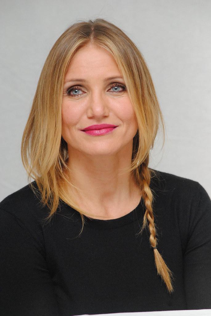 Камерон Диас — Пресс-конференция «Энни» 2014 – 48
