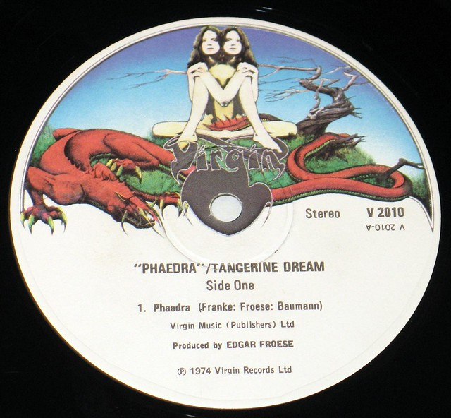 "Tangerine Dream Phaedra 12"" vinyl LP"