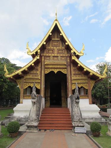 Chiang Mai: temple Wat Phra Singh
