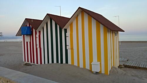Ya en la Playa de San Juan (Alicante)