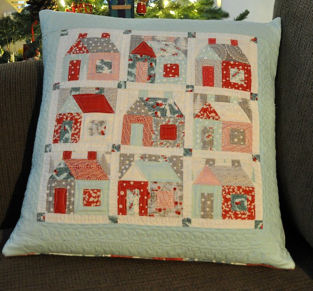 Sew Inspired Little House Pillow