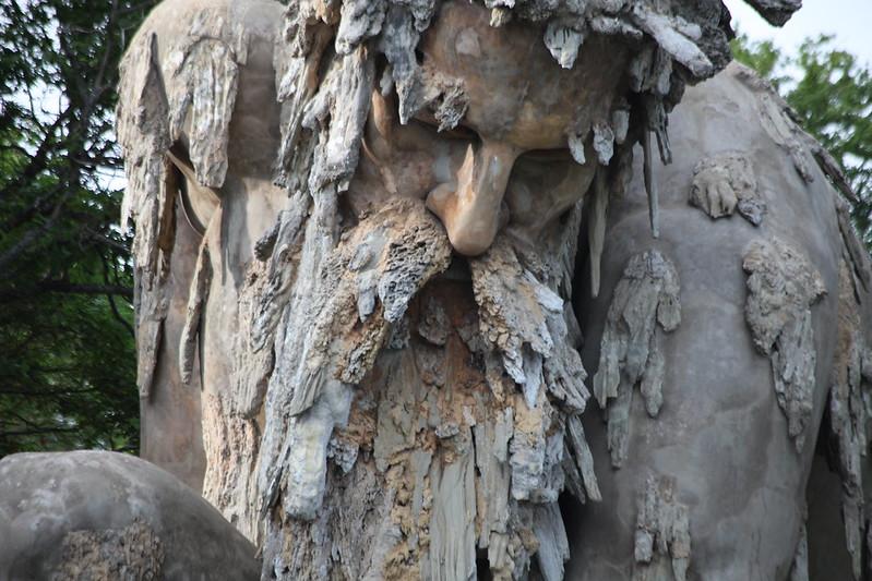 El Coloso de los Apeninos de Giambologna