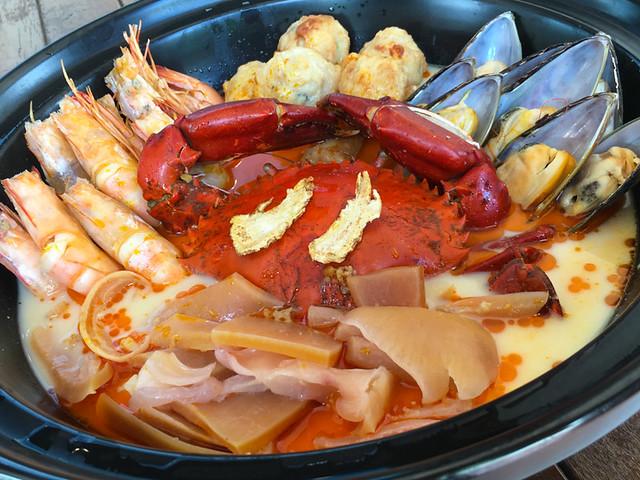 Dragon Tiger Seafood Pot