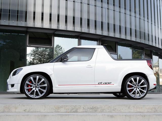 Прототип BT Design Škoda Yeti Etape Concept. 2012 год