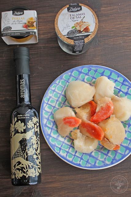 Carpaccio de vieiras www.cocinandoentreolivos.com (1)