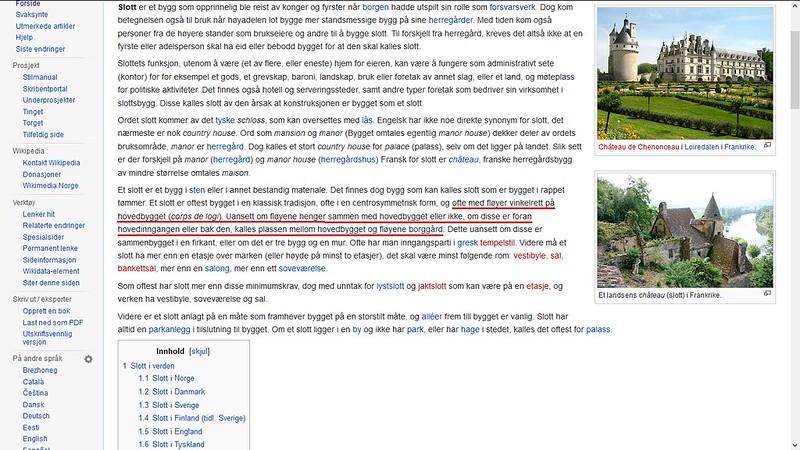 mer om slott wiki