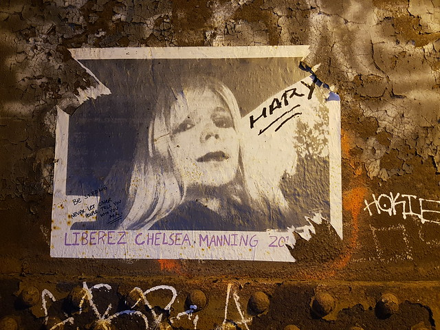 """Free Chelsea Manning"" Poster"