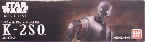 レビュー バンダイ ローグ・ワン/スター・ウォーズ K-2SO 1/12スケール プラモデル