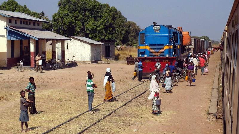Train from Kigoma, TANZANIA, July 2013