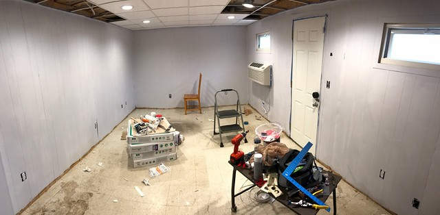 Foundry back office under construction