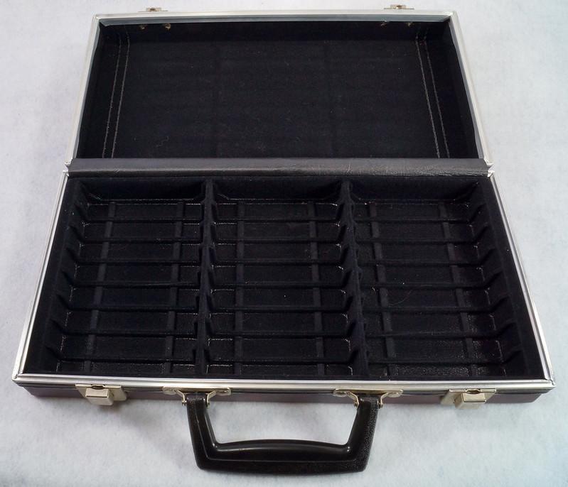 RD12878 Vintage Savoy 24 Cassette Tape Case Haverhill, MA with Bonus Tapes DSC08095