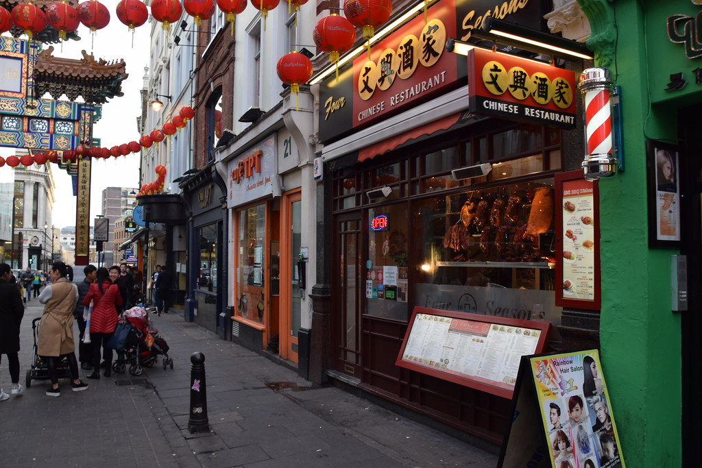 DSC_0469 London Chinatown 唐人街 Four Seasons Chinese Restaurant