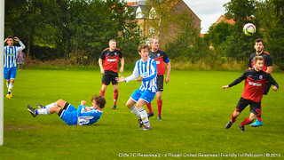 Cliffe FC 2ndXI 2-4 Riccall Utd Reserves 5Sept15