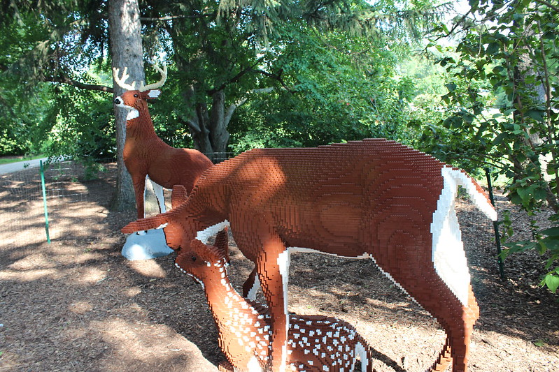 Herd of Deer: 84,442 LEGO bricks and 540 build hours