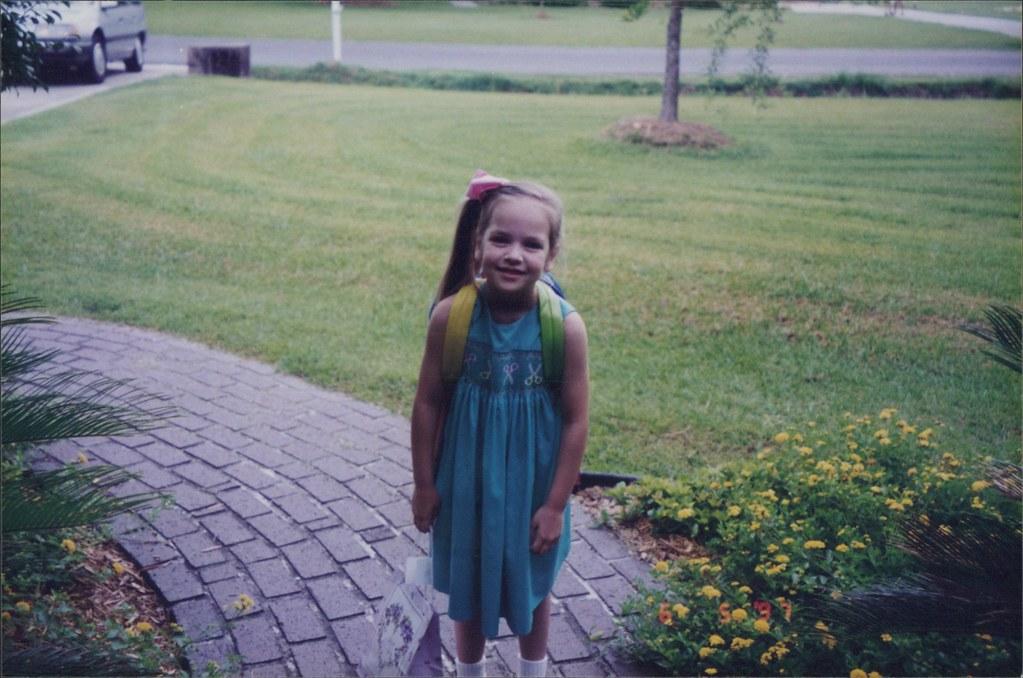 Aunt Caroline to kindergarten