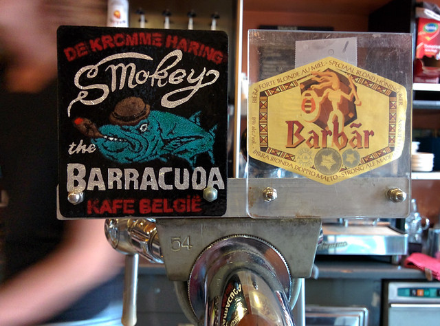 Smokey Barracuda - special beer brewed for Kafé België's 30th anniversary