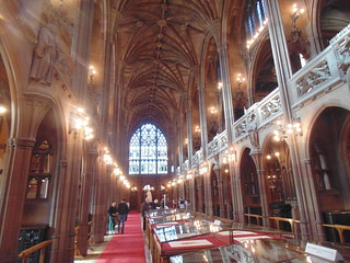 Bild von John Rylands Library. geotagged deansgate universityofmanchester 2015 greatermanchester johnrylandslibrary manchesterm3 sonydsch200
