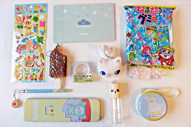 August 2015 Kawaii Box