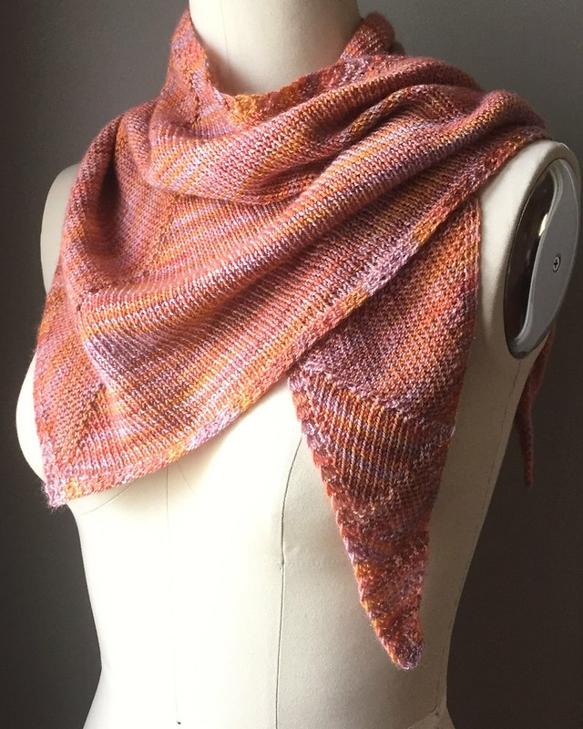 Bisection Shawl