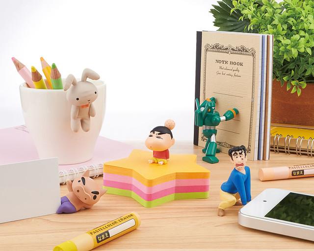 【官圖公開!】史上第一款《蠟筆小新》桌上玩具「桌上的蠟筆小新」