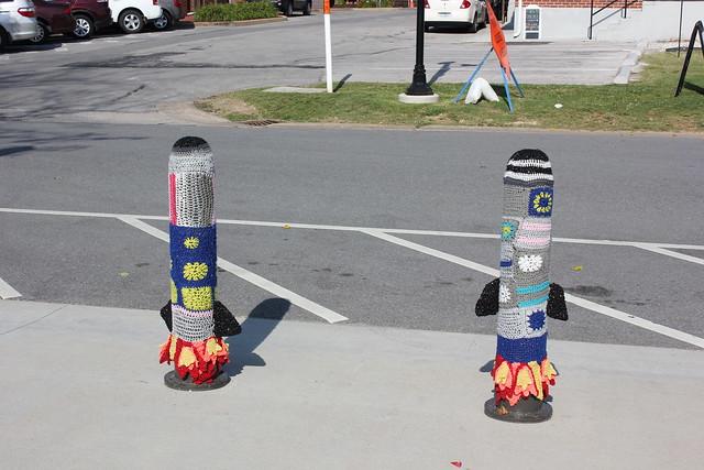 Yarn Bomb -- Rocket