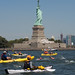 2015 Liberty to Freedom Swim across the Hudson River, New York City by jag9889