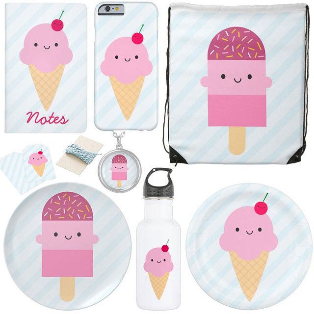 Ice Cream & Ice Lolly at Zazzle