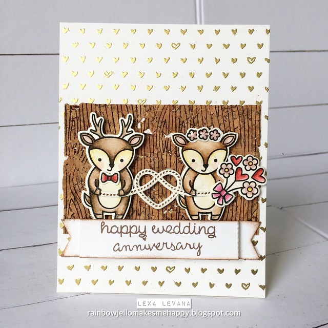 have a deer-ly wedding anniversary